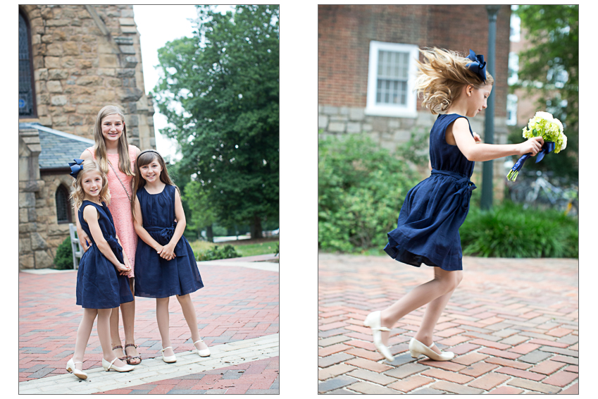The central grounds at UVA were the perfect backdrop for some post-ceremony snapshots.